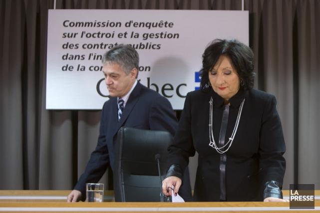 Renaud Lachance et France Charbonneau n'auront pas réussi... (PHOTO ROBERT SKINNER, LA PRESSE)