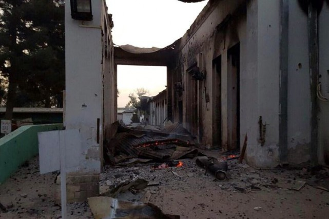 L'hôpital de Médecins sans Frontières à Kunduz a été... (PHOTO ARCHIVES ASSOCIATED PRESS)