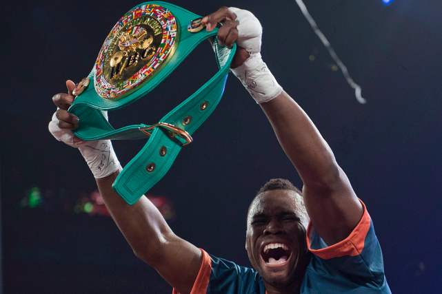 Adonis Stevenson s'était emparé de la ceinture The... (Photo Graham Hughes, archives PC)