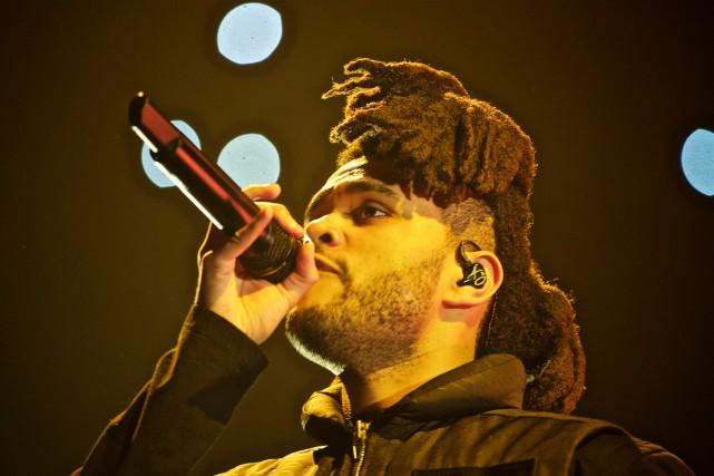 La tournée du chanteur The Weeknd s'est arrêtée... (PHOTO ANDRÉ PICHETTE, ARCHIVES LA PRESSE)