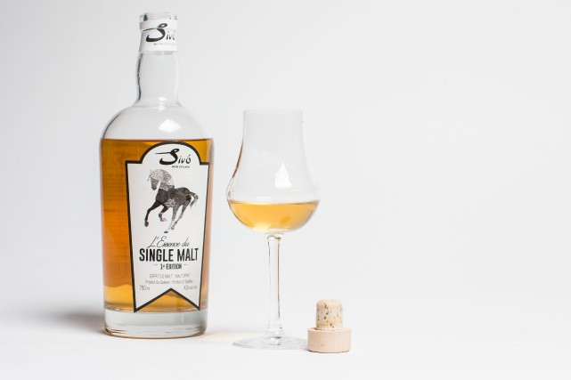 L'Essence du single malt, 1re édition, 750 ml, 42 % alc./vol.... (PHOTO OLIVIER PONTBRIAND, LA PRESSE)