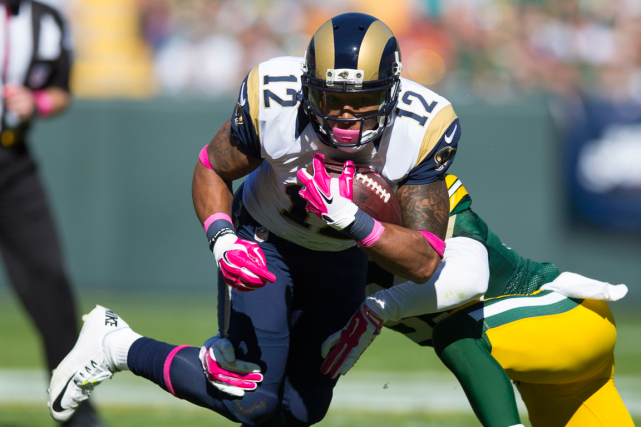 Stedman Bailey... (Photo Jeff Hanisch, USA Today)