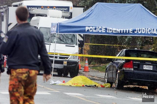 Il y a eu un peu plus d'homicides au pays en 2014, et particulièrement chez les... (Archives La Presse)