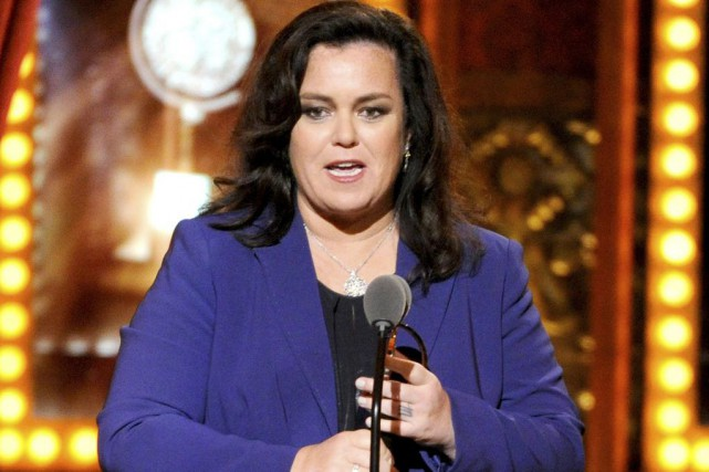 Rosie O'Donnell... (PHOTO ARCHIVES AP)