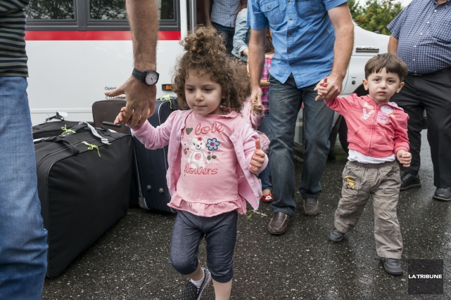Quelques réfugiés syriens sont déjà arrivés à Sherbrooke... (IMACOM, FRÉDÉRIC CÔTÉ)