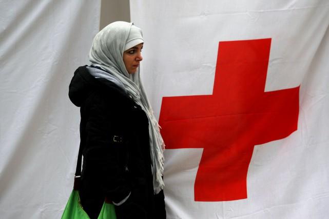 L'Organisation des Nations unies (ONU) et la Croix-Rouge... (PHOTO ARCHIVES AFP)