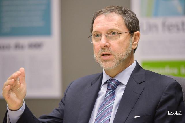 Yves-ThomasDorval,président-directeur généralConseil du patronat du Québec... (Le Soleil, Yan Doublet)