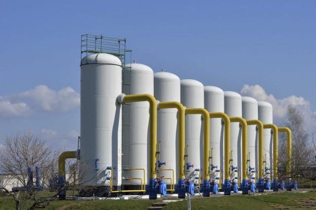 La société d'État russe Gazprom a cessé ses... (Archives, Agence France-Presse)