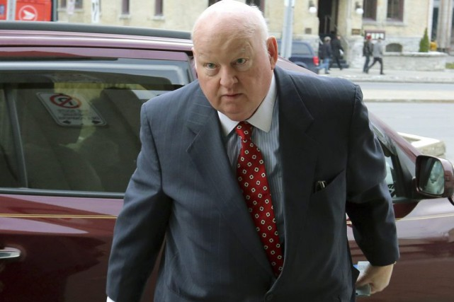 Duffy a plaidé non coupable à 31 chefs... (Photo Fred Chartrand, La Presse Canadienne)