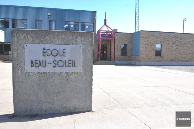 L'école primaire Beau-Soleil du secteur Pointe-du-Lac.... (Stéphane Lessard, Le Nouvelliste)