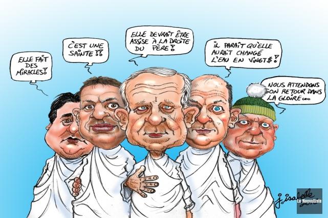 Caricature du 26 novembre... (Jean Isabelle, Le Nouvelliste)