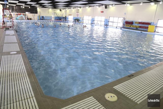 La piscine Miner sera fermée au début de... (Archives La Voix de l'Est)