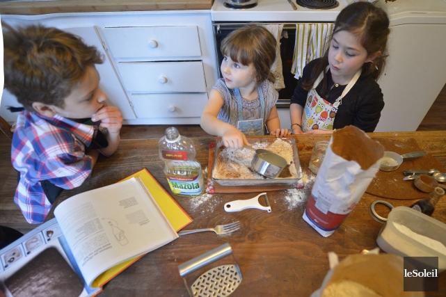 Nos chefs: Léo, 8 ans, Laure, 3 ans... (Le Soleil, Yan Doublet)