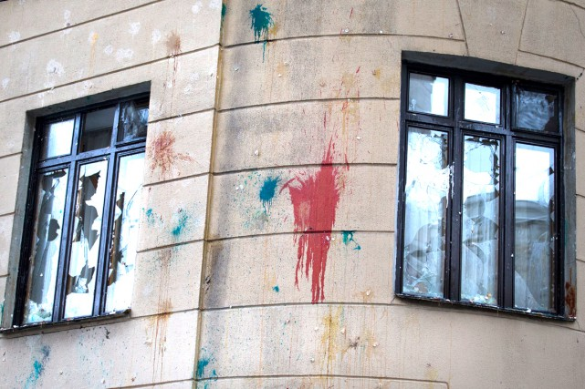 L'ambassade de Turquie à Moscou a été la... (AP, Ivan Sekretarev)
