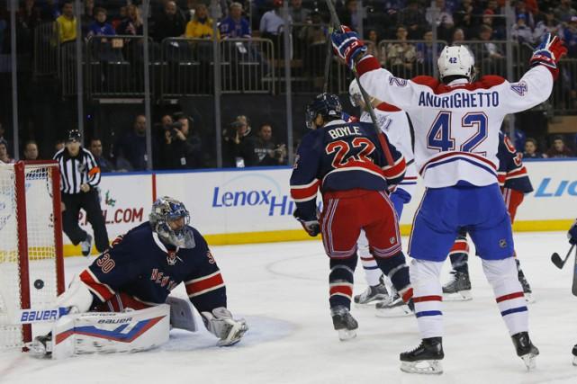 Relisez le clavardage du match entre le Canadien et les Rangers de New York... (PHOTO REUTERS)