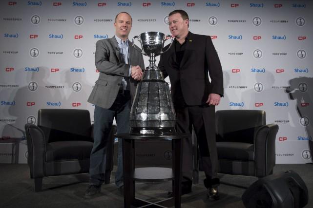 L'entraîneur-chef du Rouge et Noir, Rick Campbell, a... (La Presse Canadienne)