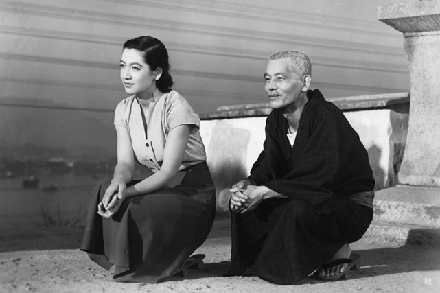 Setsuko Hara dans le chef-d'oeuvre deYasujirō Ozu, Tokyo... (PHOTO WIKICOMMONS)