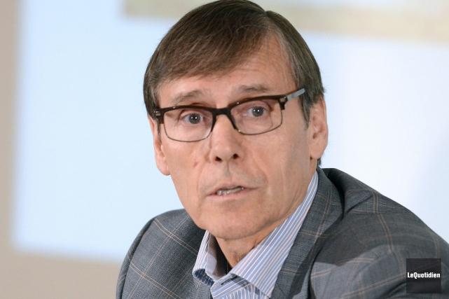 Le président de PFR, Richard Garneau... (Archives Le Quotidien)
