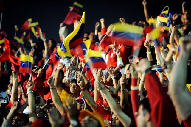 Les Vénézuéliens voteront le 6 décembre pour élire... (Photo archives AFP)
