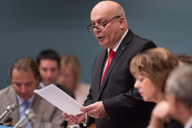 Le projet de loi76, présenté il y a... (PHOTOJACQUES BOISSINOT, ARCHIVES LA PRESSE CANADIENNE)