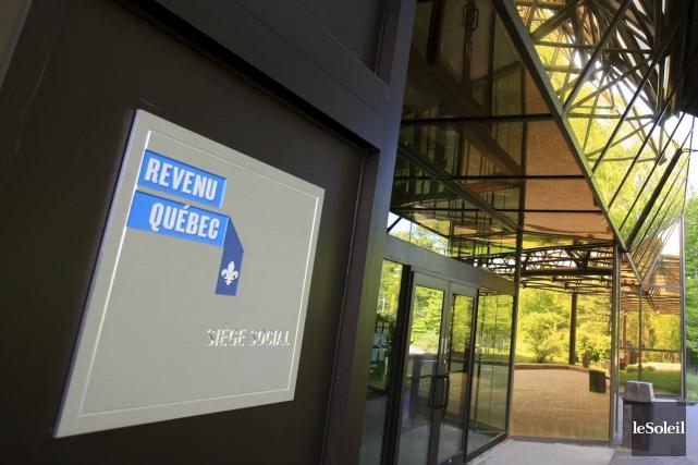 La présence de Revenu Québec sur Twitter et... (Photothèque Le Soleil, Pascal Ratthé)