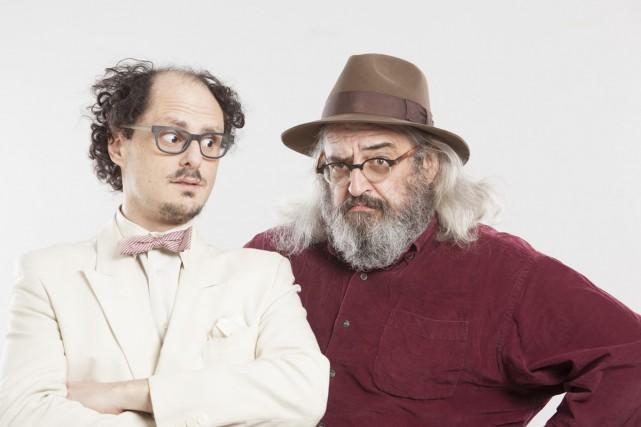 Socalled et Yves Lambert se sont rencontrés en... (PHOTO FOURNIE PAR MUSICOR)