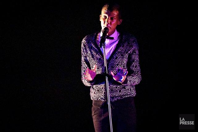 Stromae lors d'un spectacle au Centre Bell.... (PHOTO ANDRÉ PICHETTE, ARCHIVES LA PRESSE)