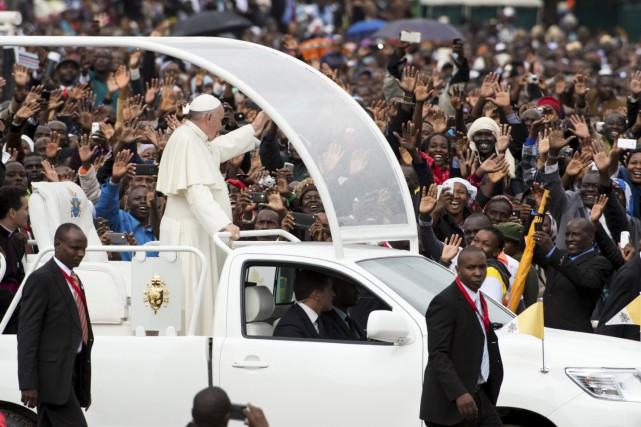 D'origine argentine, le pape François en est à... (AP)
