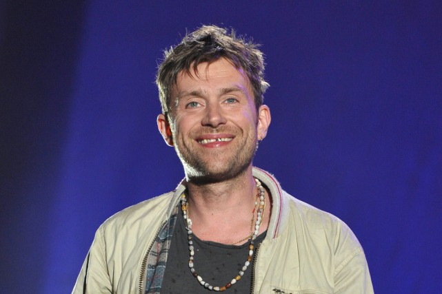 Damon Albarn... (PHOTO ARCHIVES AP)