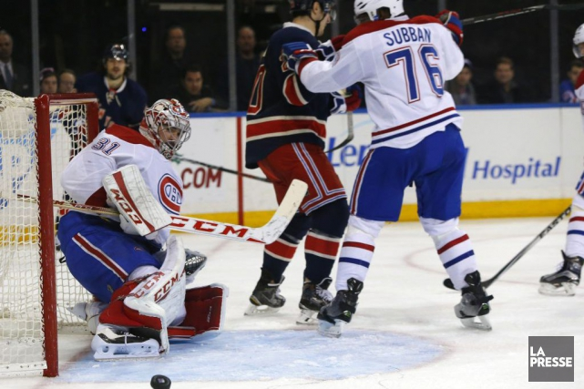 Carey Price s'est blessé en deuxième période contre... (PHOTO NOAH K. MURRAY, USA TODAY SPORTS)