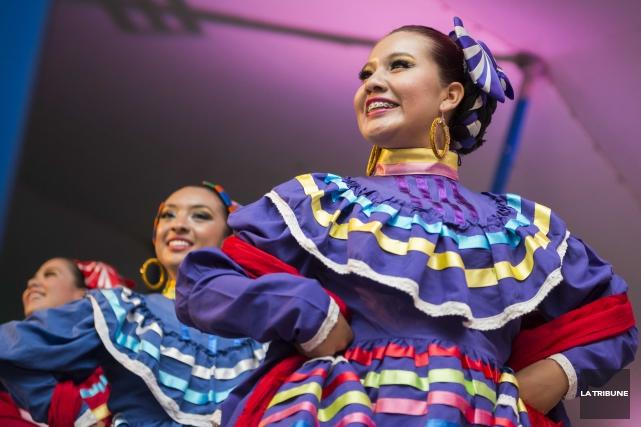 Pour une deuxième année consécutive, le Mondial des cultures de Drummondville... (Archives La Tribune, Frédéric Côté)