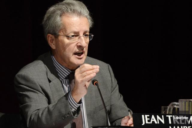 Le maire de Saguenay Jean Tremblay.... ((Photo Le Quotidien, Jeannot Lévesque))