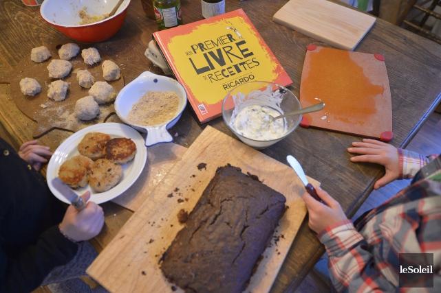Gâteau auchocolat sans salir un bol (Le Soleil, Yan Doublet)