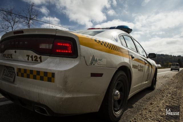 Deux individus ont fait irruption dans une résidence de la route 116 Est à... (Archives La Presse)