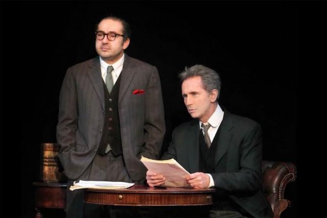 Deux grandes pointures de la comédie en France joueront des rôles dramatiques... (IMAGE TIRÉE D'UNE VIDÉO)