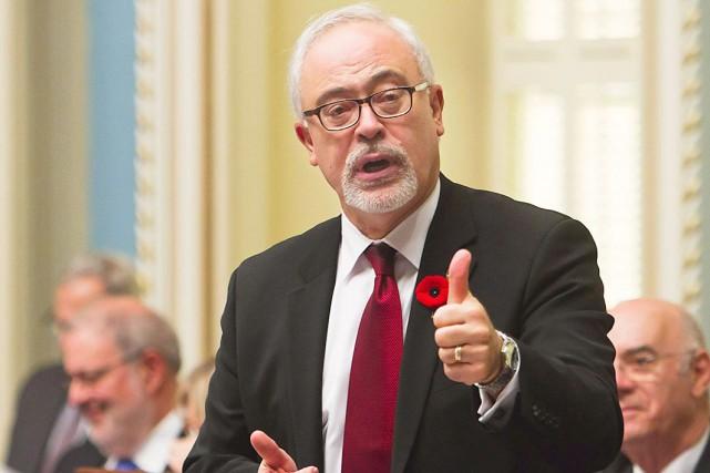 Le ministre des Finances du Québec, Carlos Leitao... (La Presse Canadienne, Clément Allard)
