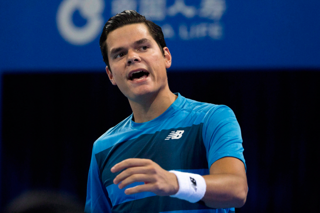 Milos Raonic... (Photo Andy Wong, archives AP)
