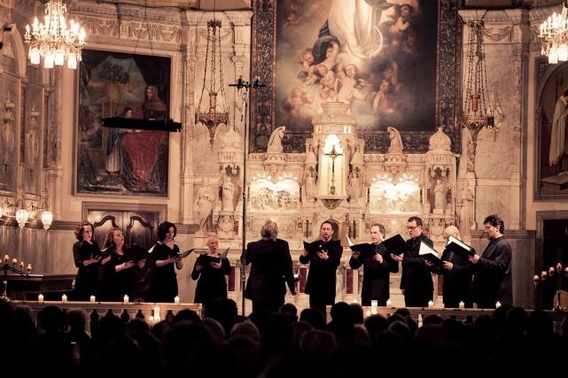 Sous la bannièreAu sommet/Musiques festives de Bach et de Handel, la... (Photo d'archives)