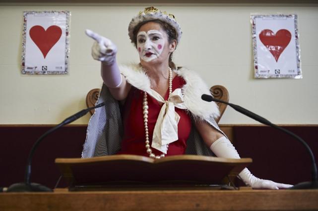 Comédie musicale aux airs d'opéra rock, wonder.land a... (AFP, Niklas Halle'n)