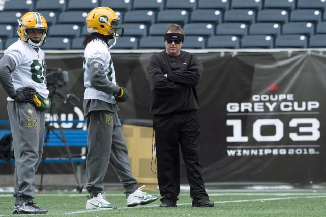 L'entraîneur-chef des Eskimos, Chris Jones, est considéré comme... (PHOTO NATHAN DENETTE, LA PRESSE CANADIENNE)