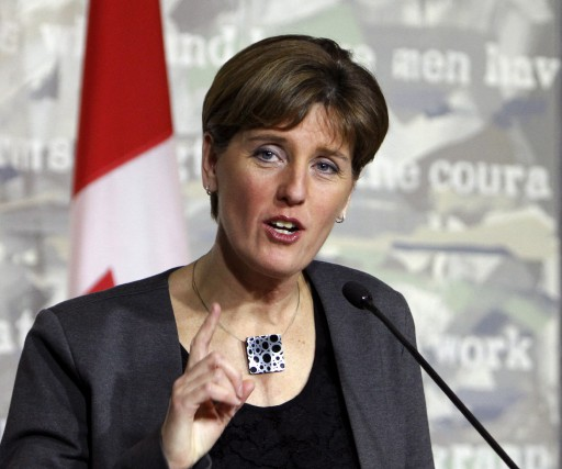 La ministre du Développement international, Marie-Claude Bibeau.... (La Presse Canadienne)