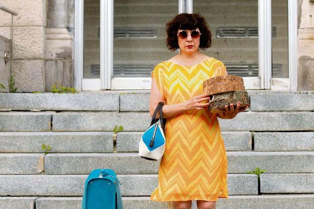 DansLe coeur de madame Sabali, Marie Brassard incarne... (Fournie par K-Films Amérique)