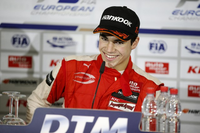 Lance Stroll... (Photo fournie par Prema Powerteam)