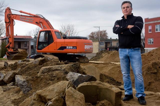Denis Despins, présidentd'Excavation Ovila Despins, s'est interrogé sur... (François Gervais)