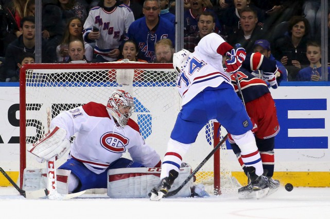 Mercredi à New York contre les Rangers, Carey... (AFP, Bruce Bennett)