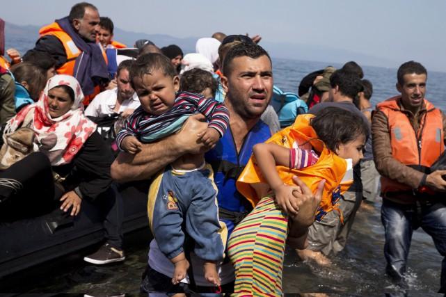 Près de quatre millions de Syriens vivent actuellement... (PHOTO ARCHIVES LA PRESSE CANADIENNE)