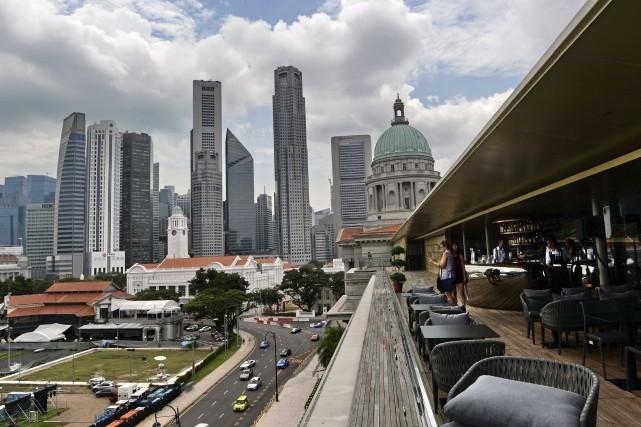 Singapour... (AFP, Roslan Rahman)