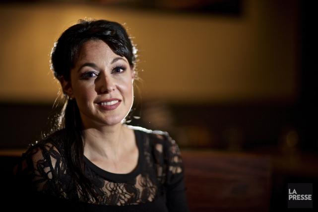 L'auteure Claudia Larochelle a tenu à venir à... (Archives La Presse)