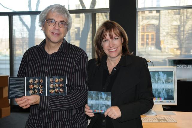Luc Beauchemin et Hélène Thériault sont fiers de... (Photo courtoisie, Corbus)