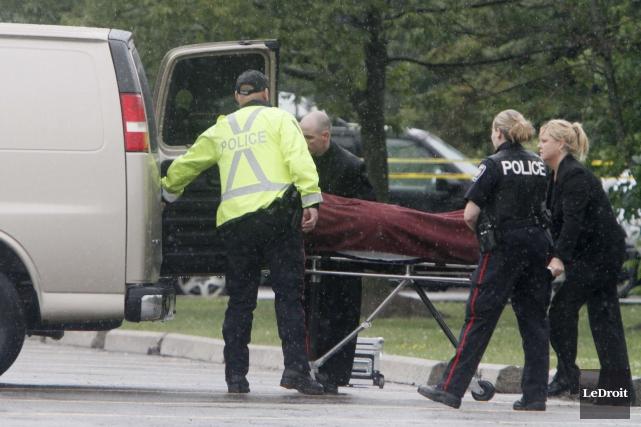 Le corps de Melissa Richmond avait été retrouvé... (Simon Séguin-Bertrand, Archives LeDroit)